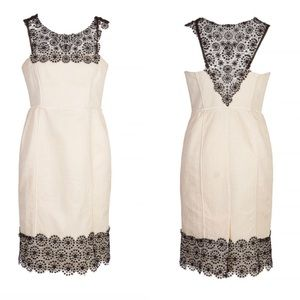 Sportmax by Max Mara Sleeveless Lace Dress Size 4